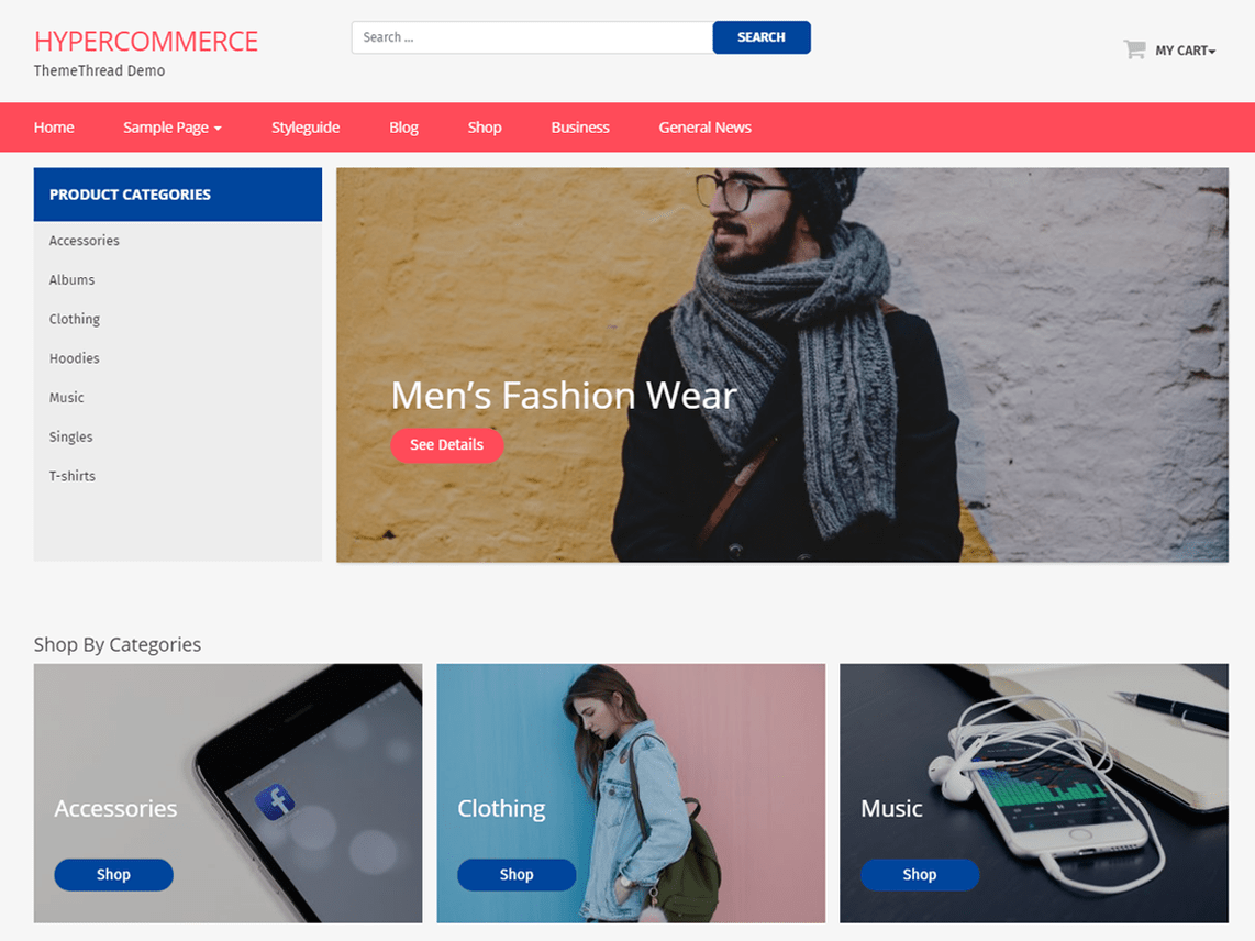Best e-Commerce Themes 2018 | ThemeThread