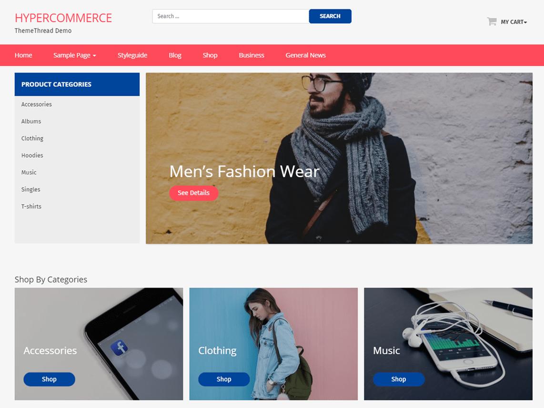 Top 10 Free WordPress e-Commerce Themes | ThemeThread