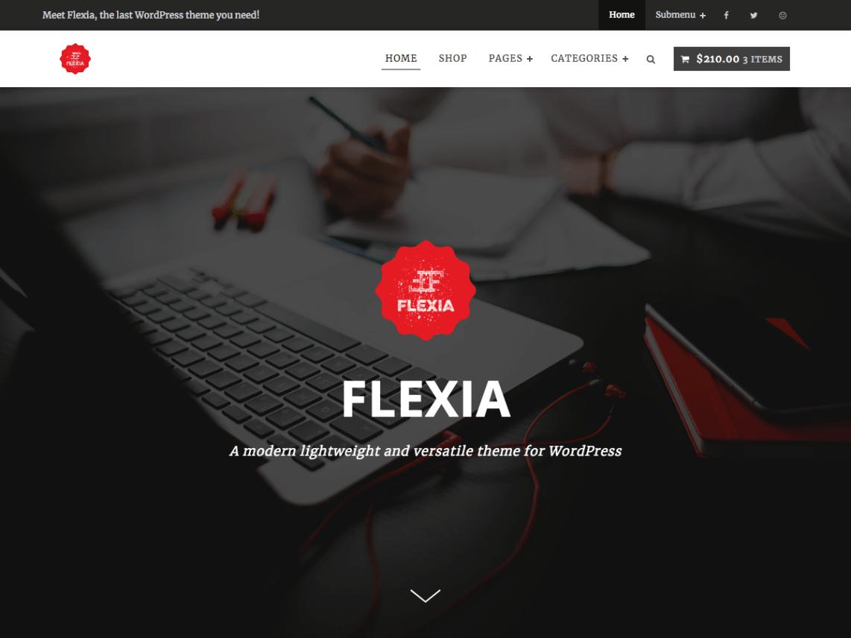 Flexia eCommerce Theme