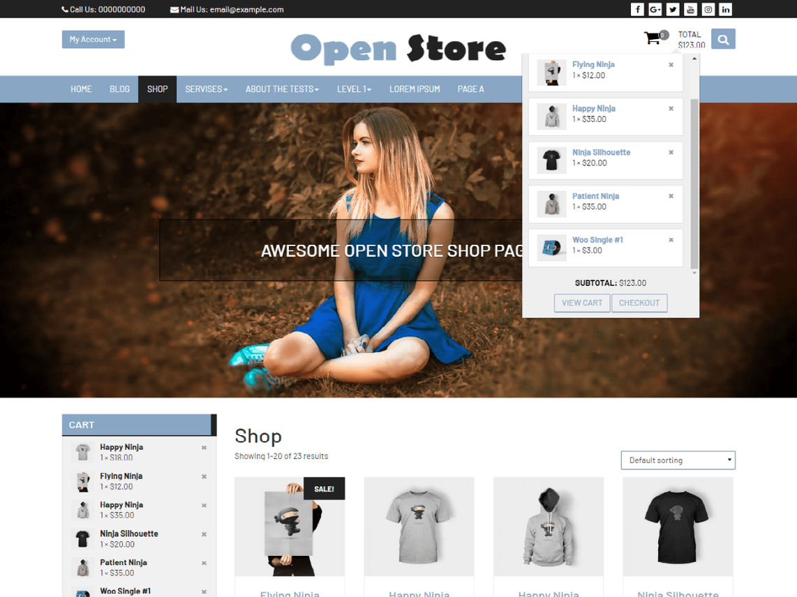 Open Store eCommerce Theme