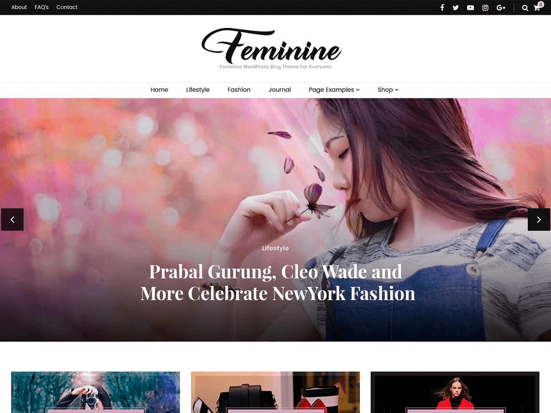 Blossom Feminine eCommerce theme