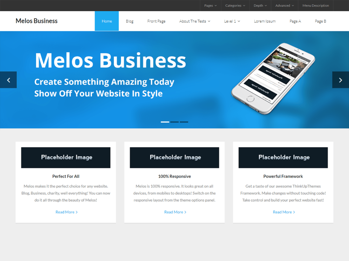 Melos Business eCommerce Theme